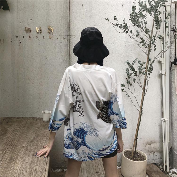 Tsunami Fish Haori SD00776