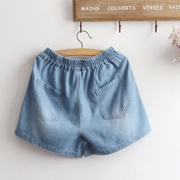 Cat Denim Shorts SD01700