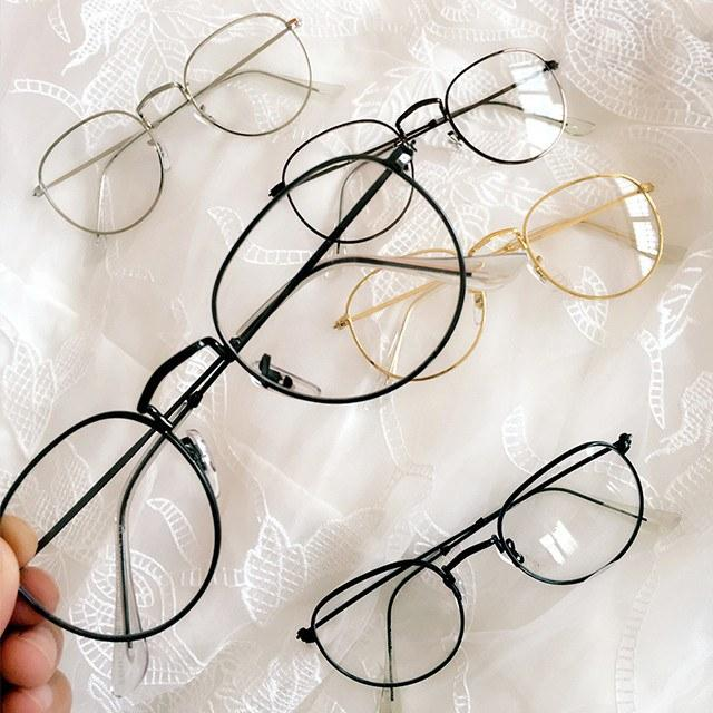Fake Round Glasses SD01651
