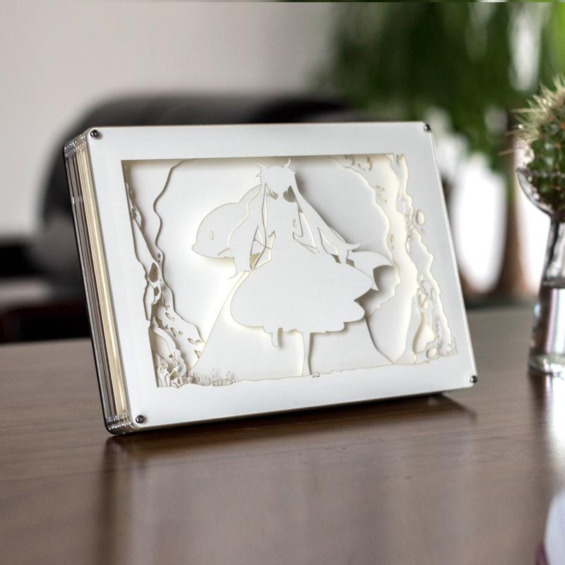 Sailor Moon Led Light Night Book Stand SD01989