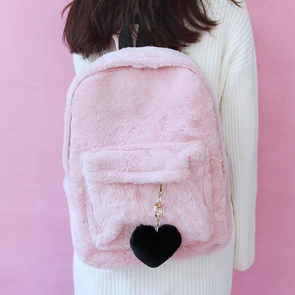 Plush Fluffy Backpack SD00715