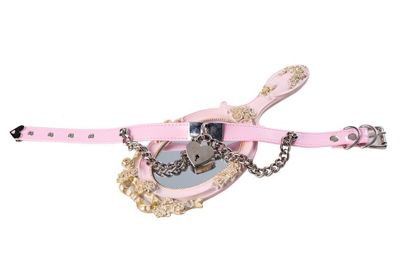 Chain Heart Locker Neck Strap Collar SD00101