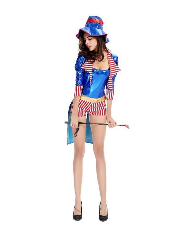 Circus Animal Trainer Magician Womens Halloween Costume