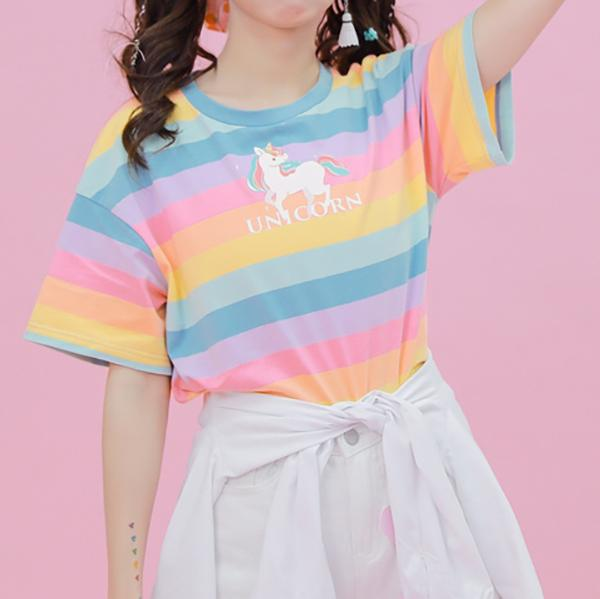 Unicorn Rainbow T-shirt SD00428
