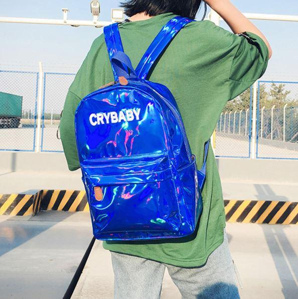 Holographic Crybaby Backpack SD00659