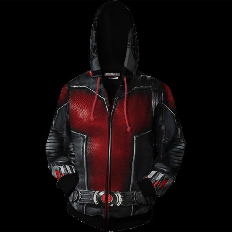 The Avengers Endgame Ant-Man Zip Up Hoodie CSP802