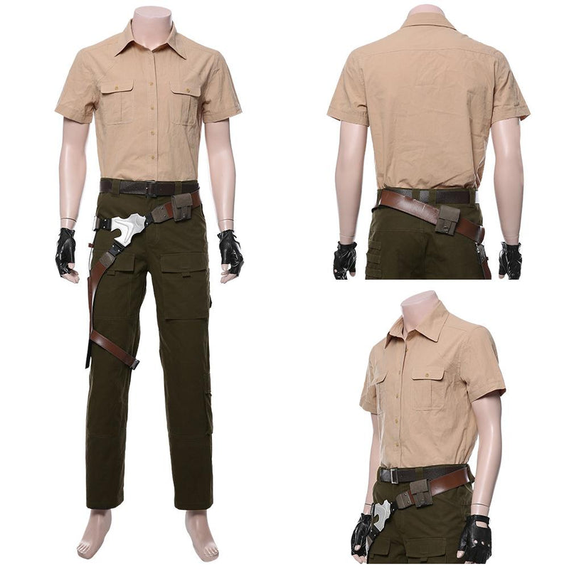 Jumanji: The Next Level Smolder Bravestone Uniform Cosplay Costume