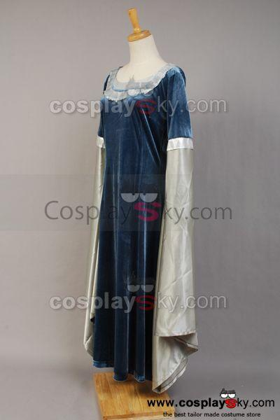 The Lord of the Rings Arwen Traveling Dress Costume