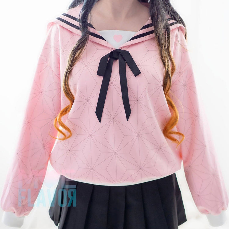 Nezuko School Sailor Sweater MF00673