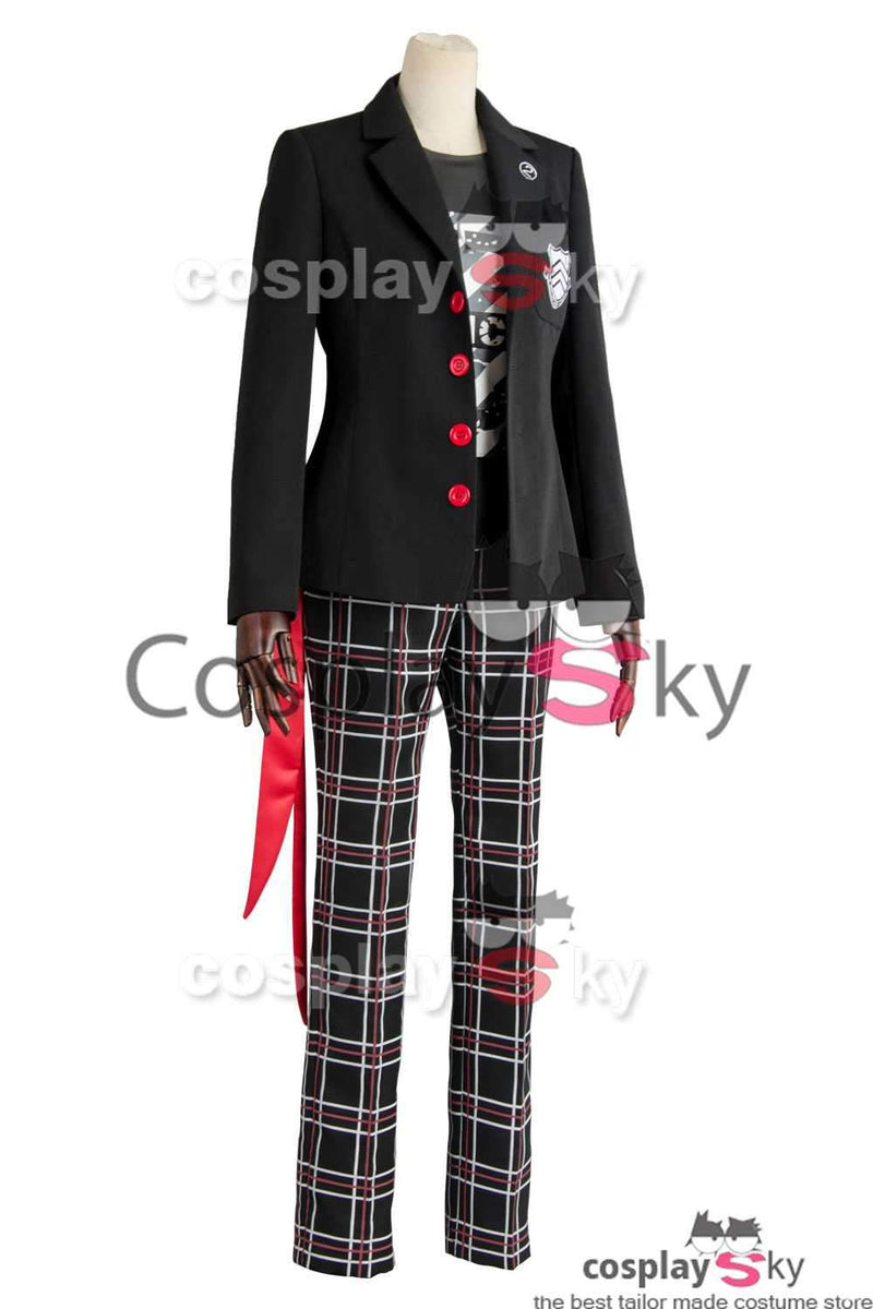 Persona 5 Protagonist Dancing Star Night Outfit Cosplay Costume