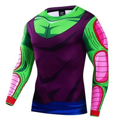 Dragon Ball Z - Long Sleeve T Shirt 3D