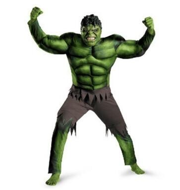 The Hulk Costumes for kids/ Fancy dress/Halloween Carnival Party Cosplay Boy Kids Clothing Decorations Supplies