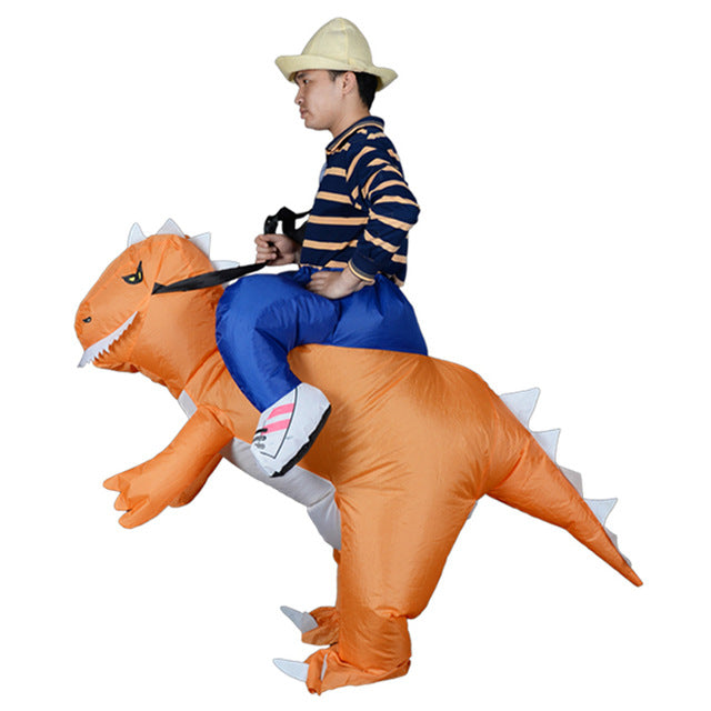 Mascot Inflatable  T REX Anime Cosplay Dinosaur For Adult Men Women Kids Dino Cartoon Halloween Costume