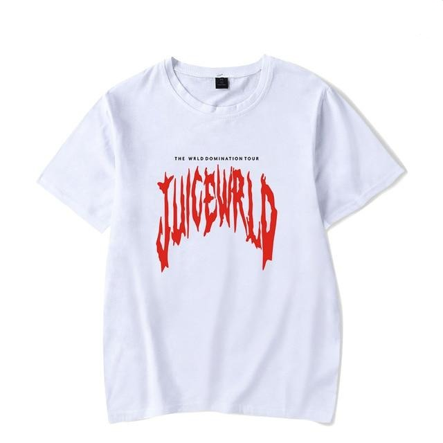 Rapper Juice WRLD Emo trap Song Lucid Dreams Hip hop print T-shirt