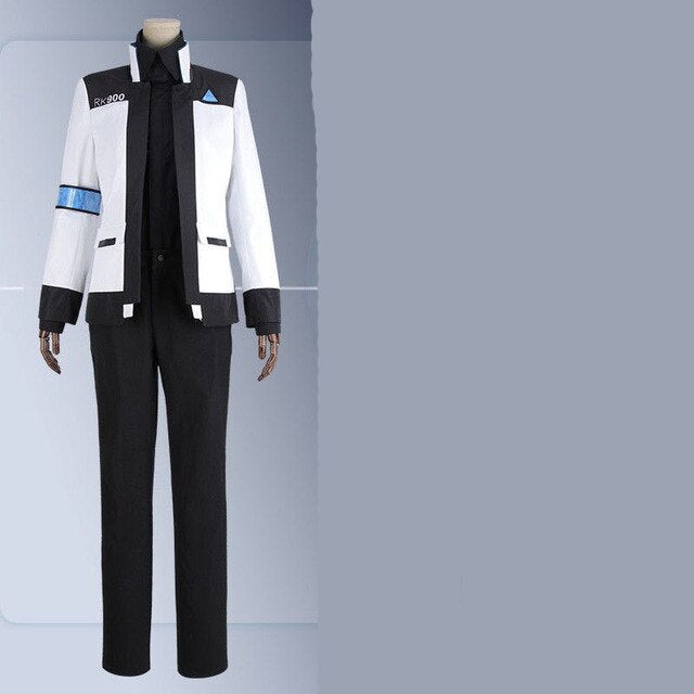 Game Detroit:Become Human Connor 900 Cos RK900 Agent Suit Uniform woman kara Cosplay Costume jacket shirt pants Customize Made