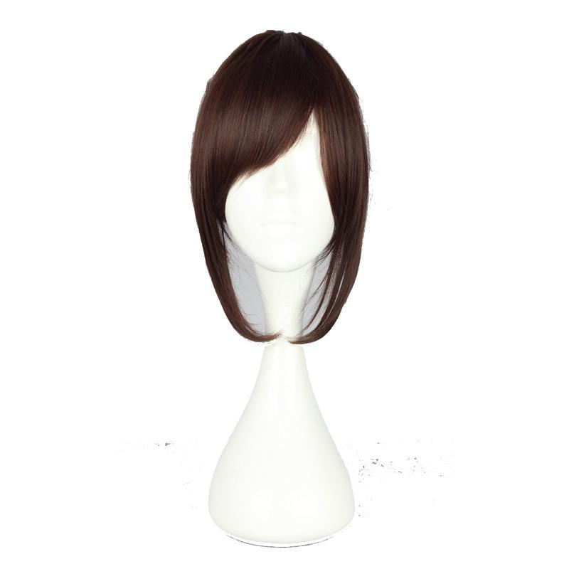 Anime Girl Short Brown Cosplay Wig
