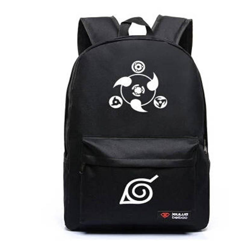Naruto Backpack Hokage School Travel laptop Bag