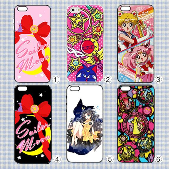 6 Patterns Sailor Moon Iphone/Xiaomi/Samsung Phone Case CP153335 Page1