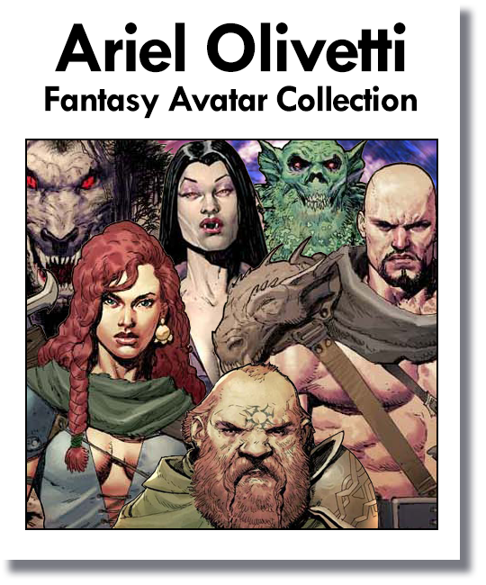 Ariel Olivetti Fantasy Avatar Collections