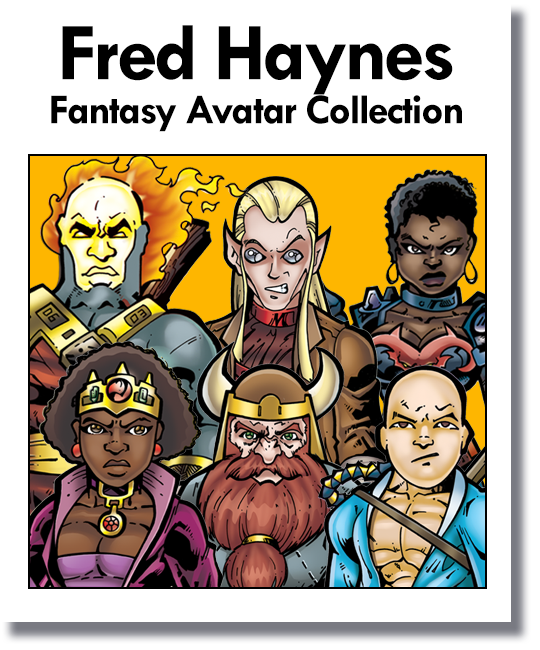 Fred Haynes Fantasy Avatar Collection