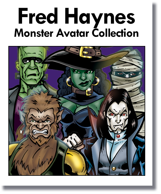 Fred Haynes - Classic Monster Avatar Collection