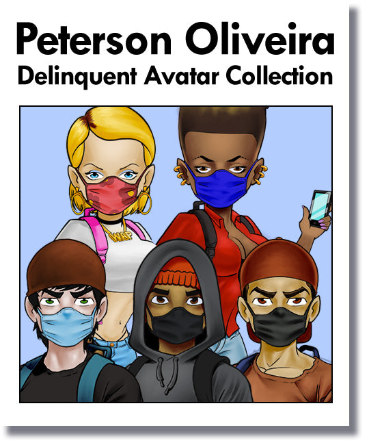 Peterson Oliveira Delinquent Avatar Collection
