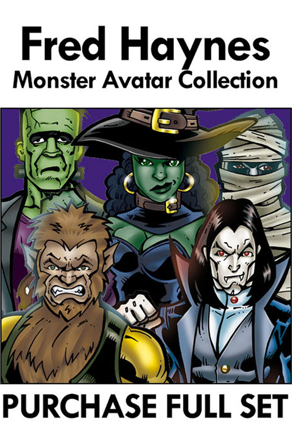 Purchase Fred Haynes Monster 2020 5 piece Collection Set 1