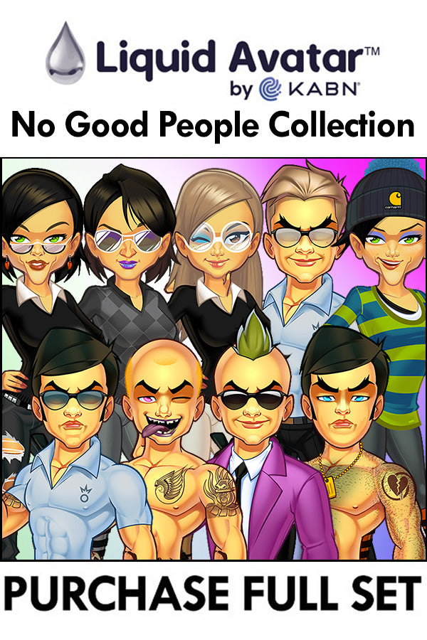 Purchase Liquid Avatar – No Good People 2020 - 10 Piece Set 1