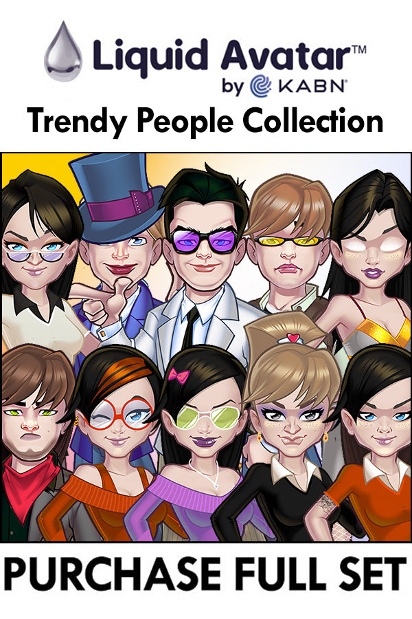 Purchase Liquid Avatar – Trendy People 2020 - 10 Piece Set 1