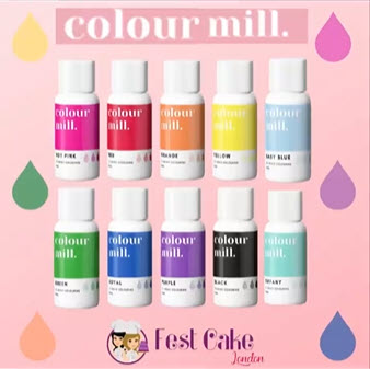 Colour Mill Oil Based Colouring for Chocolates