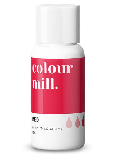Colour Mill Red oil based concentrated colouring 20ml
