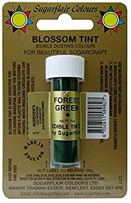 Florest Green Blossom Tint by Sugarflair 7ml