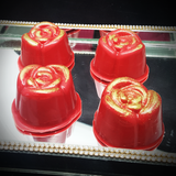 3-Part Chocolate Mould - Rose - BWB9420