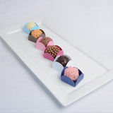 Mini Dessert Liners - Brown