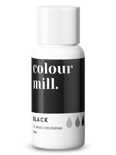 Colour Mill Black oil based concentrated colouring 20ml