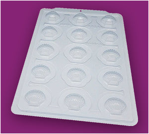 3-Part Chocolate Mould - Shell - BWB3512
