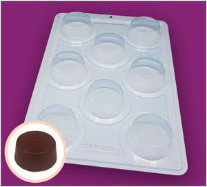 3-Part Chocolate Mould - Small Honey Bread - BWB3513