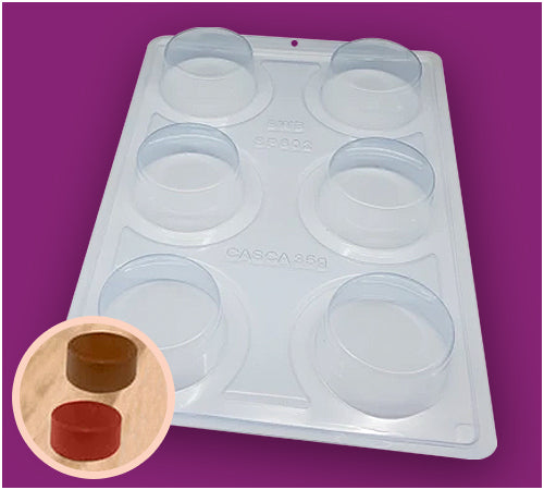 3-Part Chocolate Mould - Big Pão de Mel - BWB3520