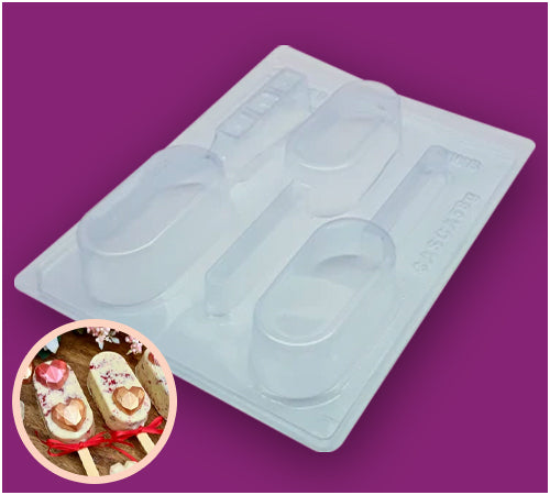 3-Part Chocolate Mould - Gourmet Cake Pop - BWB9818