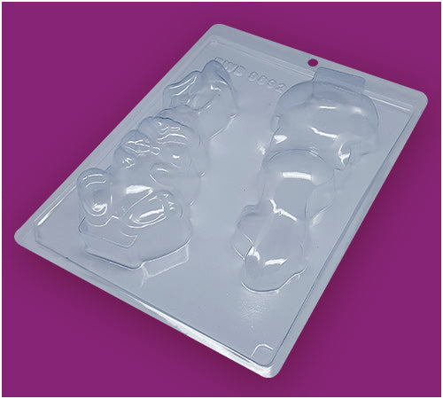 Sitting Bunny - 3-Part Mould - BWB 9892