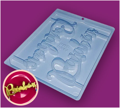 Simple Chocolate Mould Cake Top Parabens BWB9913