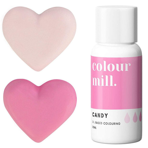 Colour Mill Candy pink oil based concentrated colouring 20ml