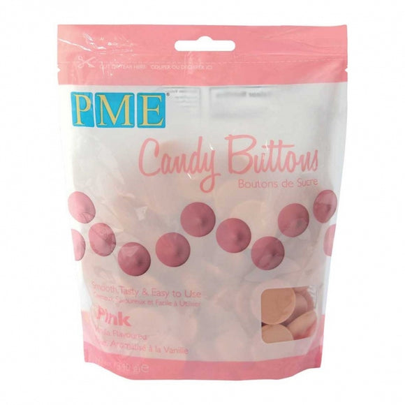 PME Pink - Candy Melts 340g