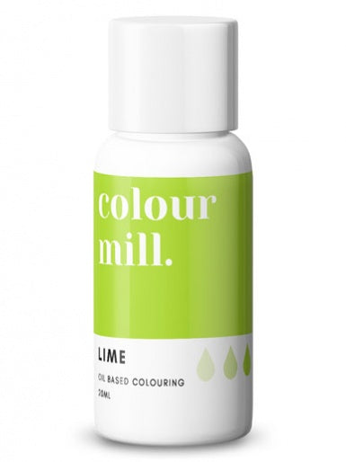 Colour Mill Lime Green oil based concentrated colouring 20ml