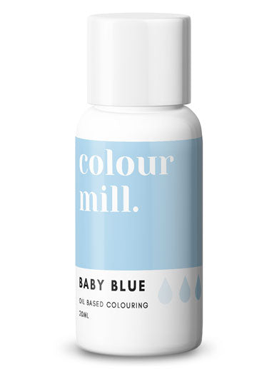 Colour Mill Baby Blue oil based concentrated colouring 20ml