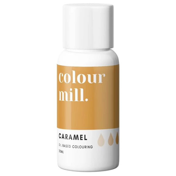 Colour Mill Caramel Brown oil based concentrated colouring 20ml
