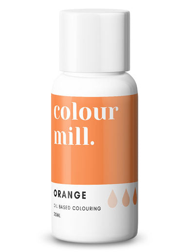 Colour Mill Orange oil based concentrated colouring 20ml