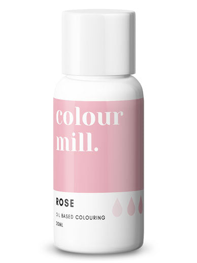 Colour Mill Rose oil based concentrated colouring 20ml