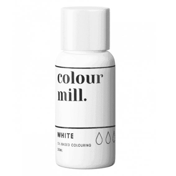 Colour Mill White oil based concentrated colouring 20ml