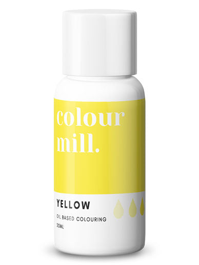 Colour Mill Yellow oil based concentrated colouring 20ml